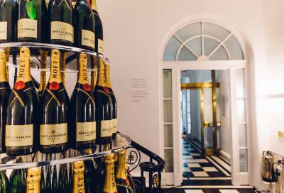 Moët Summer House at Carlton House Terrace