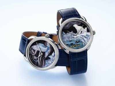 Arceau Into the Canadian Wild timepieces by Hermès Horloger