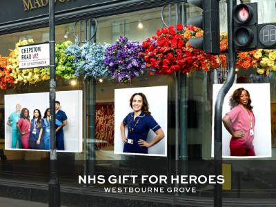 Maddox Gallery opens NHS Gift for Heroes exhibition