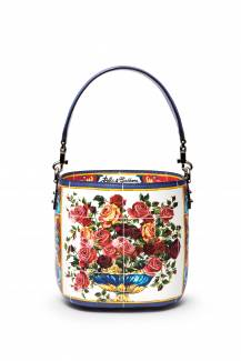 Dolce & Gabbana Glam bucket bag in printed leather, £1,350
