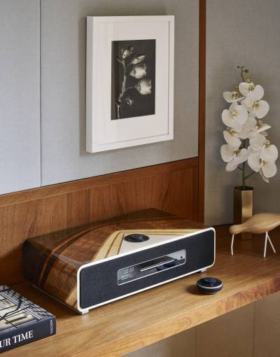 Sound craft: The Amplis Audio System from Ruark Audio x Linley