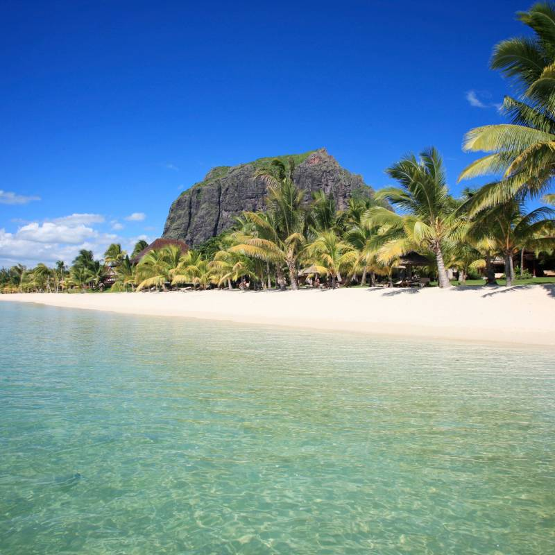 Icing sugar beaches at LUX* Le Morne